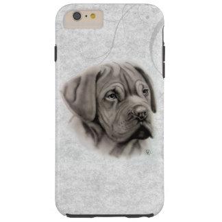 French Mastiff Portrait Tough iPhone 6 Plus Case