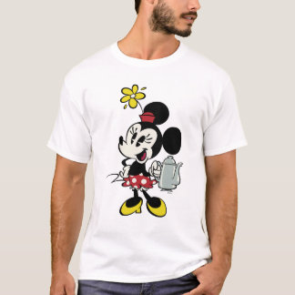 French Minnie | Minnie with Teapot T-Shirt