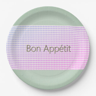 French-Mod-Fresh-Stripe-Multi-Size Paper Plate