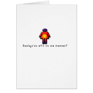 French-Mommy Card