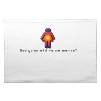 French-Mommy Placemat