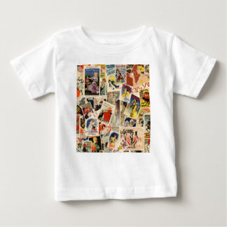 French Montage design 2 Baby T-Shirt