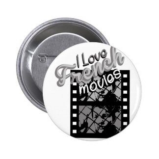 French Movies 6 Cm Round Badge