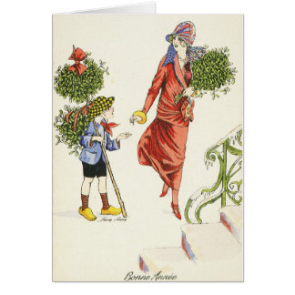 French New Year Card