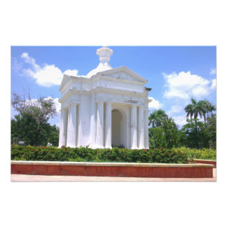 French Park Monument in Pondicherry India Art Photo