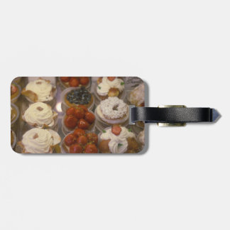 French Pastries Luggage Tag