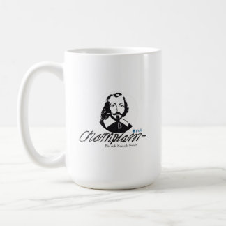 French people Quebec Samuel Champlain quotation Coffee Mug