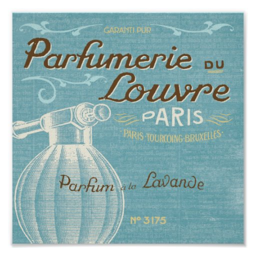 French Perfume Posters
