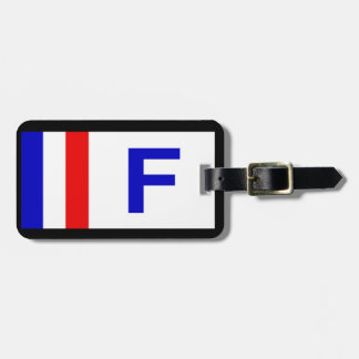 FRENCH PERSONALISED LUGGAGE TAG