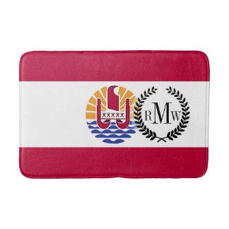 French Polenysia flag Bath Mat