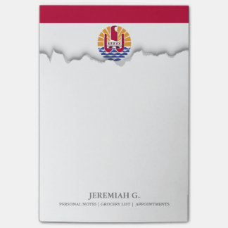 French Polenysia flag Post-it® Notes