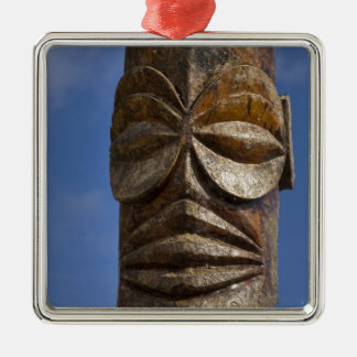 French Polynesia, Cook Islands, Rarotonga, Metal Ornament