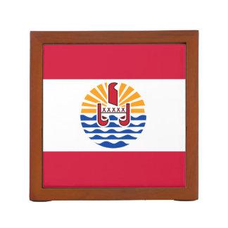 French Polynesia Flag Desk Organiser