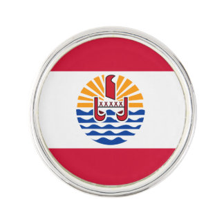 French Polynesia Flag Lapel Pin