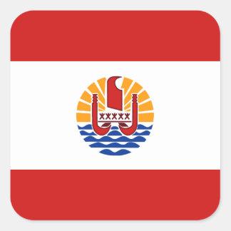 French Polynesia Flag Sticker