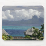 French Polynesia, Moorea. A view of the island Mouse Pad