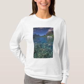 French Polynesia, Moorea. Cooks Bay. Cruise ship T-Shirt