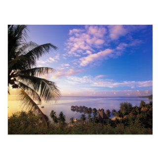 French Polynesia, Moorea. View of the Baie de Postcard