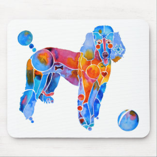 French Poodle Mouse Pad