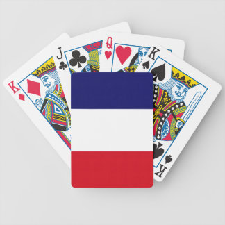 French pride! bicycle playing cards