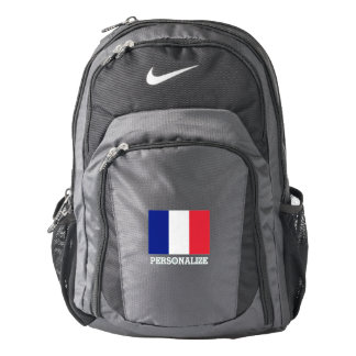 French pride flag of France personalized Backpack