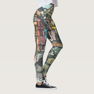 French Provence of Alsace Leggings