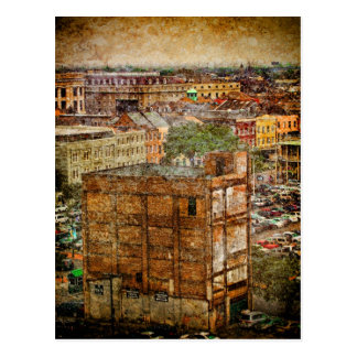 French Quarter Textures Postcard