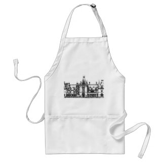 French Renaissance architecture in USA Apron