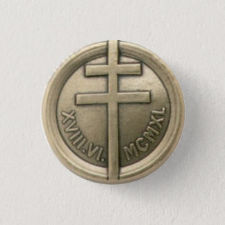 French Resistance Medal 3 Cm Round Badge
