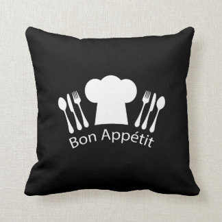 French Restaurant Chefs Hat for Gourmet Cushion
