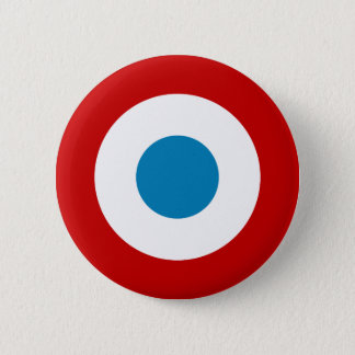 French Revolution Roundel France Cocarde Tricolore 6 Cm Round Badge