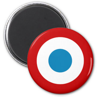 French Revolution Roundel France Cocarde Tricolore 6 Cm Round Magnet