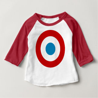 French Revolution Roundel France Cocarde Tricolore Baby T-Shirt