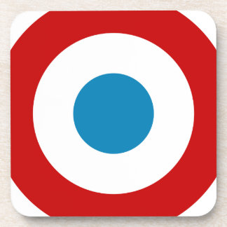 French Revolution Roundel France Cocarde Tricolore Coaster