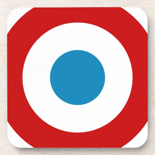 French Revolution Roundel France Cocarde Tricolore Coaster