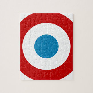 French Revolution Roundel France Cocarde Tricolore Jigsaw Puzzle