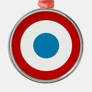 French Revolution Roundel France Cocarde Tricolore Metal Ornament