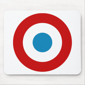 French Revolution Roundel France Cocarde Tricolore Mouse Pad