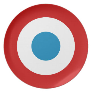 French Revolution Roundel France Cocarde Tricolore Plate
