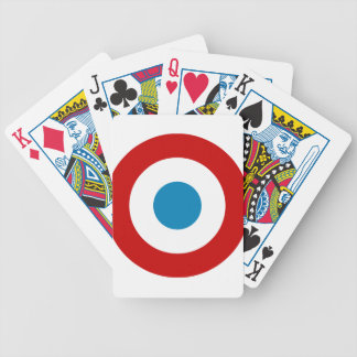 French Revolution Roundel France Cocarde Tricolore Poker Deck