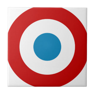 French Revolution Roundel France Cocarde Tricolore Small Square Tile