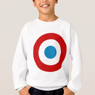 French Revolution Roundel France Cocarde Tricolore Sweatshirt