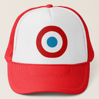 French Revolution Roundel France Cocarde Tricolore Trucker Hat