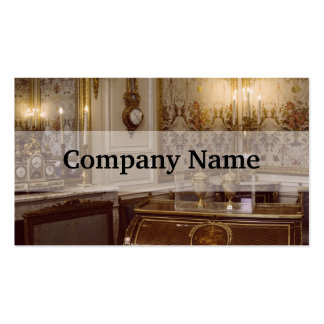 French Rococo Room In Paris Pack Of Standard Business Cards