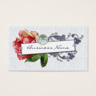 French Rose Business Cards