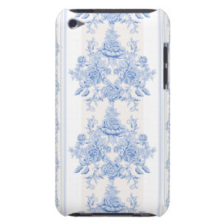 French,shabby chic, vintage,pale blue,white,countr barely there iPod cover