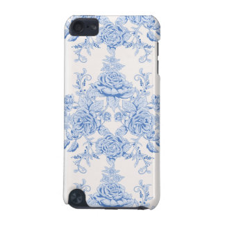 French,shabby chic, vintage,pale blue,white,countr iPod touch (5th generation) cover