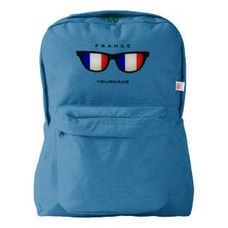 French Shades custom backpacks