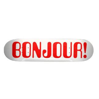 French Skateboard Deck