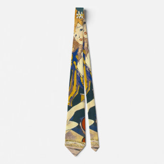French Soap Ad 1891 Tie